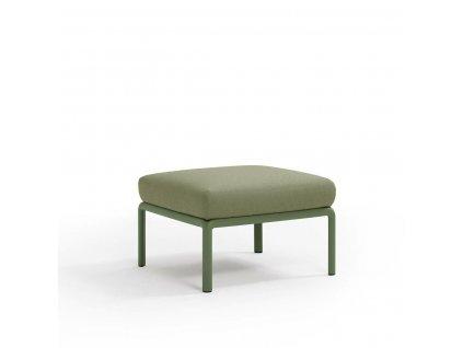 Podnožka Komodo zelená/zelená