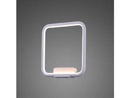 Nástěnná lampa Led Quadrat No.1 in 4k bílá