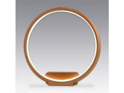 Nástěnná lampa Led Ring No.1 in 3k měděná