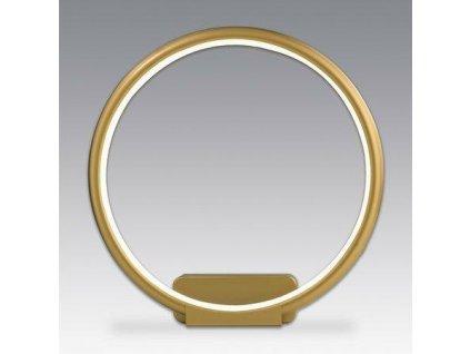 Nástěnná lampa Led Ring No.1 in 3k zlatá