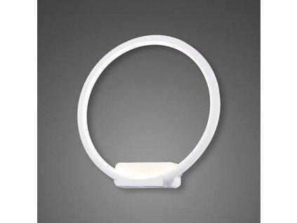 Nástěnná lampa Led Ring No.1 in 4k bílá