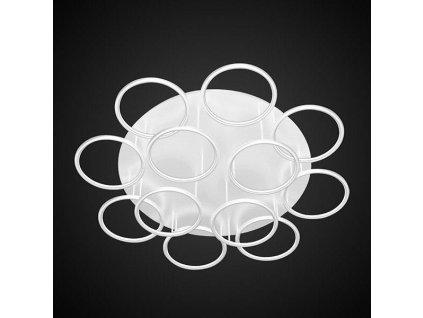 Stropní lampa Led kruhy 12 bílá in 3k