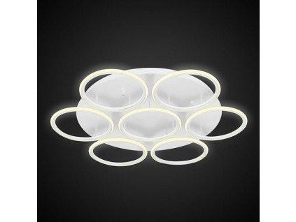 Stropní lampa Led kruhy 7 bílá out 3k