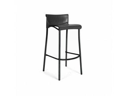 Barová stolička Duca antracitový