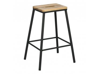 Barová stolička Seattle černý