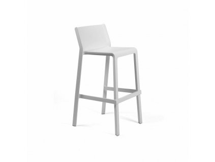 Barová stolička Trill bílý