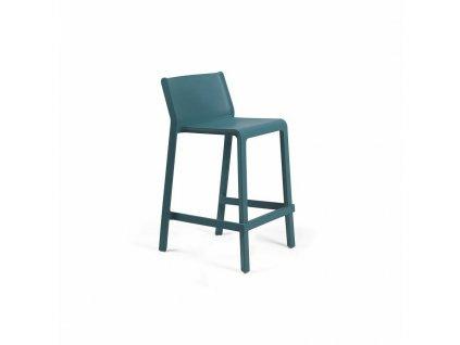 Barová stolička Trill Mini modrý