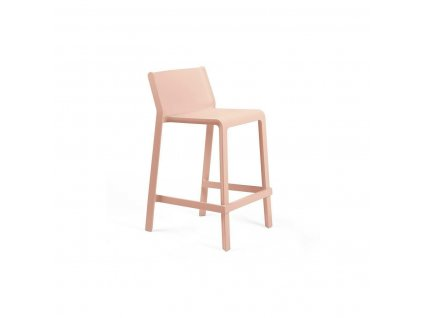 Barová stolička Trill Mini růžový