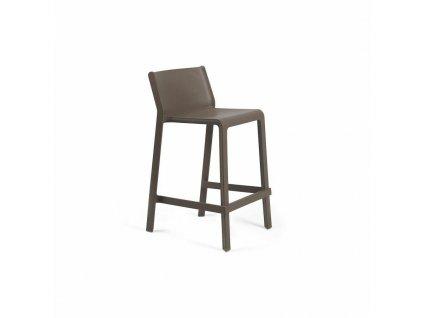 Barová stolička Trill Mini tmavě hnědý
