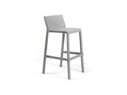 Barová stolička Trill šedý