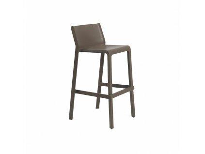 Barová stolička Trill tmavě hnědý