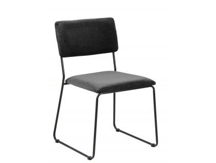 Židle Cornelia Vic tmavě šedá