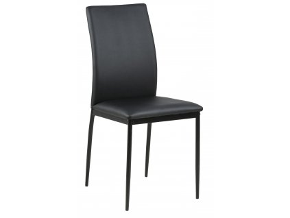 Židle Demina černá PU