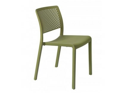 Židle Ležák olivová