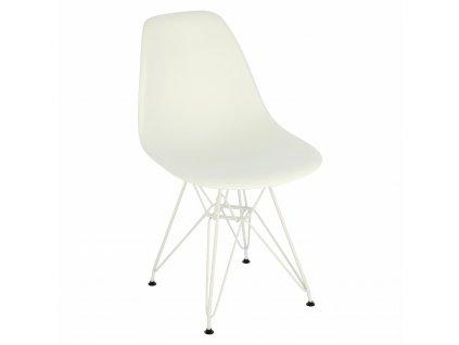 Židle P016 PP bílá bílá