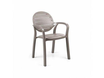 Židle Palma hnědá