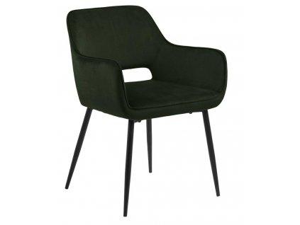 Židle Ranja olivově zelená