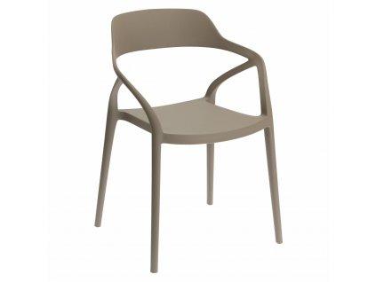 Židle Salo světle šedá