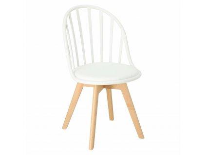 Židle Sirena bílá