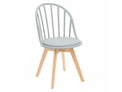 Židle Sirena šedá