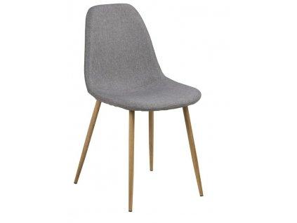 Židle Wilma šedá dub