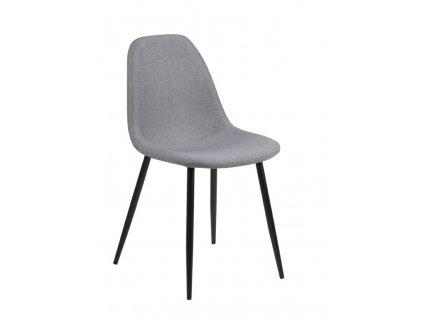 Židle Wilma světle šedá 21