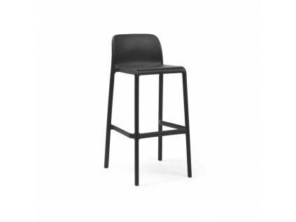 Barová stolička Faro antracitový