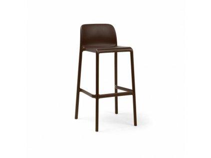 Barová stolička Faro kávový