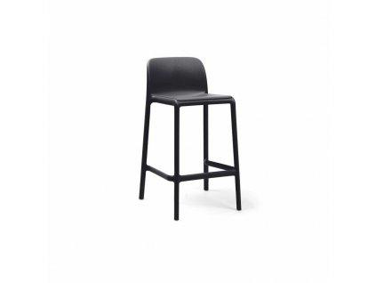 Barová stolička Faro mini antracitový