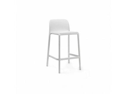 Barová stolička Faro mini bílý