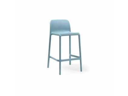Barová stolička Faro mini modrý