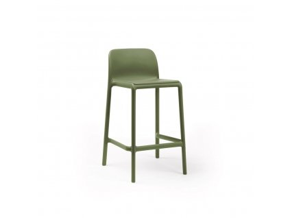 Barová stolička Faro mini zelený