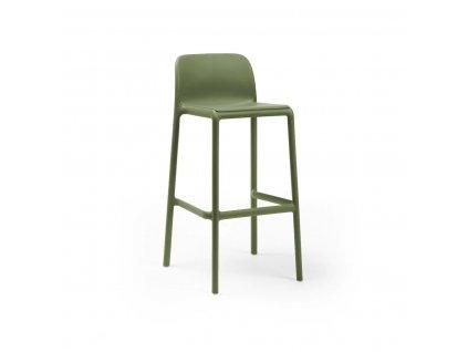 Barová stolička Faro zelený