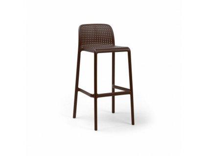 Barová stolička Lido kávový
