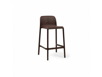 Barová stolička Lido mini kávový