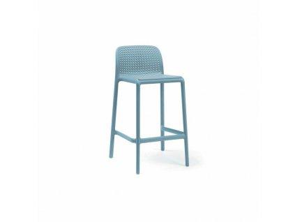 Barová stolička Lido mini modrý