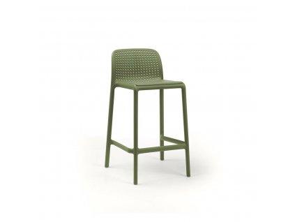 Barová stolička Lido mini zelený