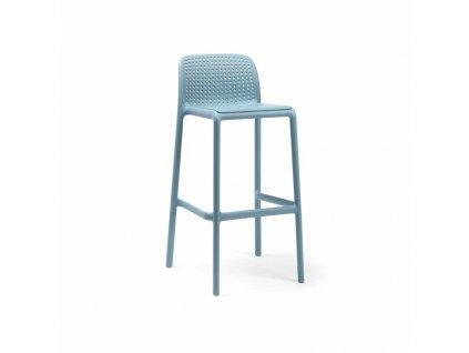 Barová stolička Lido modrý