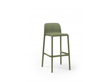 Barová stolička Lido zelený