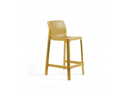 Barová stolička mini Net žlutý