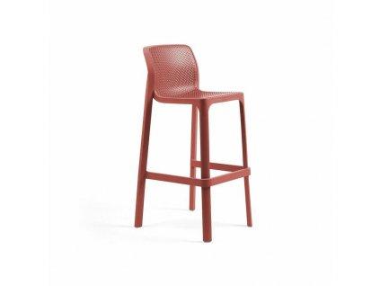 Barová stolička Net červený