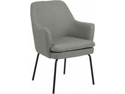 Židle Chisa světle šedá