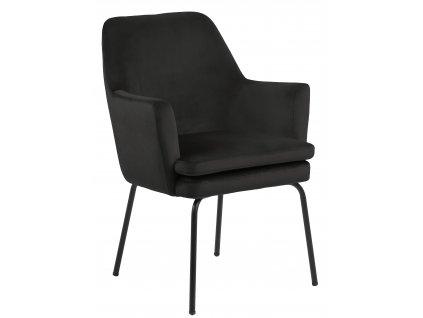 Židle Chisa Vic šedá/ hnědá