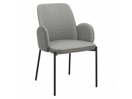 Židle Perro šedá