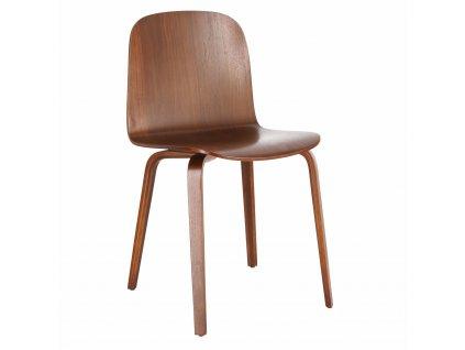 Židle Wilcheery dub walnut