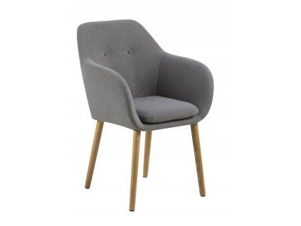 Židle Emilia šedá