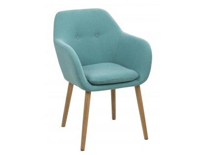 Židle Emilia světle modrá