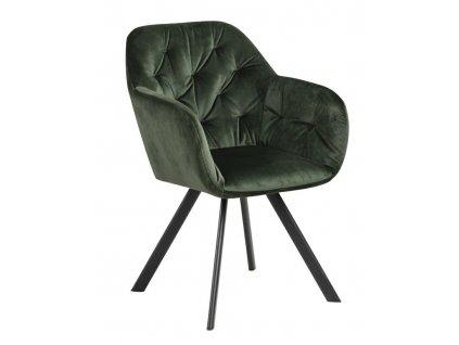 Židle Lola Vic lesní zelená