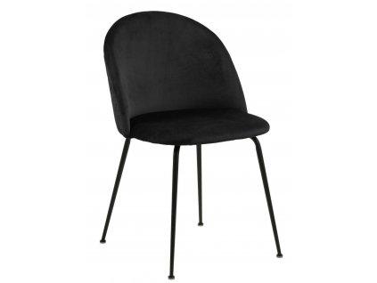 Židle Louise černá