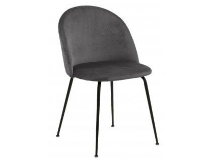 Židle Louise šedá